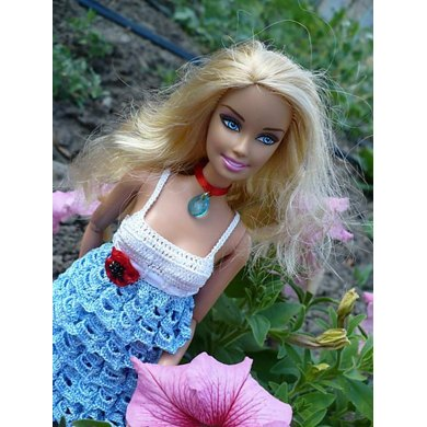 Forget-Me-Not Barbie