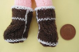 Tiny doll Ugg boots