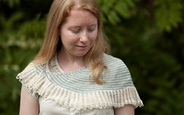 Dandelion Lace Shawl in Classic Elite Yarns Silky Alpaca Lace