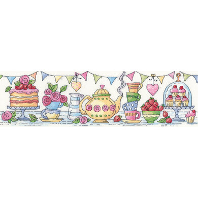 Heritage Afternoon Tea Cross Stitch Kit