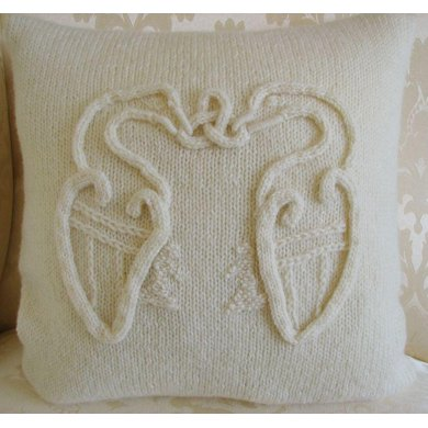 Celtic Birds Cushion Cover