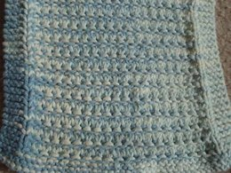 Stockinette Ridge Dishcloth