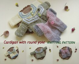 Cardigan for Doll or Toy