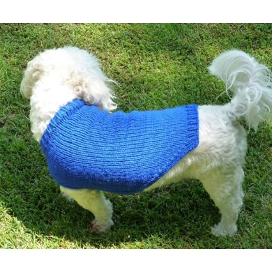 Neckdown Custom-Fit Dog Sweater
