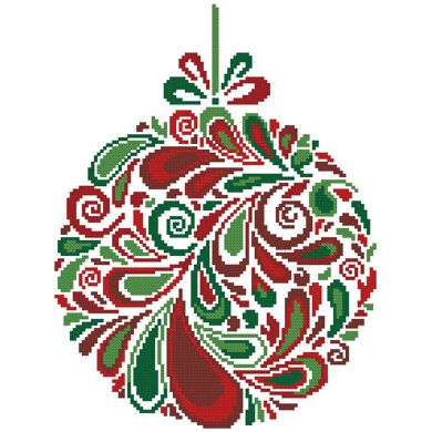Colourful Christmas Bauble 5