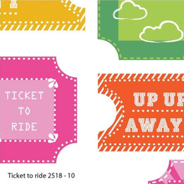 Craft Cotton Company Hot Air Balloon - Ticket To Ride