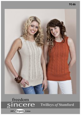 Cabled Top in Twilleys Freedom Sincere - 9146
