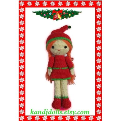 Christmas Girl - Amigurumi Crochet Pattern