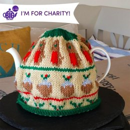 Nostalgic Christmas Tea Cosy by Julie Richards