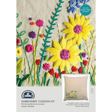 DMC Secret Garden (with Magic Paper) Embroidery Kit