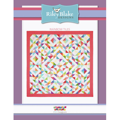 Riley Blake Rainbow Tiles - Downloadable PDF