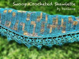 Swoop Crocheted Shawlette