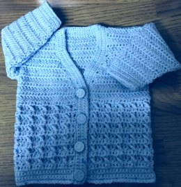 Baby's/Child's V-Neck Cardigan - 1007