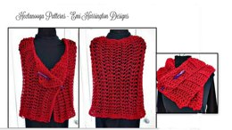 YTcr- Beginner Red Shawl