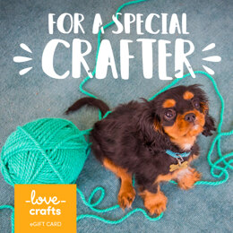 LoveCrafts eGift Card - For a Special Crafter