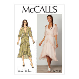 McCall's Misses' Dress M7898 - Sewing Pattern