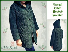 Eternal Cable Hooded Sweater