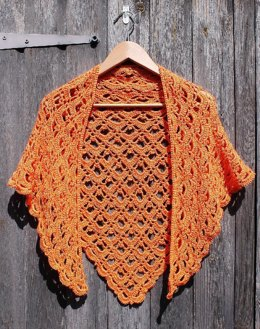 Lacy Triangular Shawl