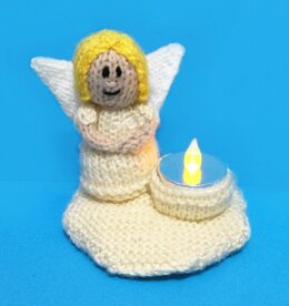 Angel Tea Light Holder
