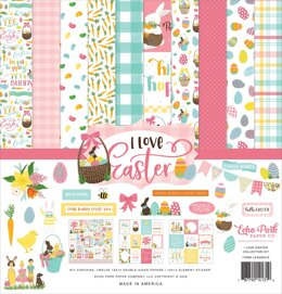 "Echo Park Paper Echo Park Collection Kit 12""X12"" - I Love Easter"