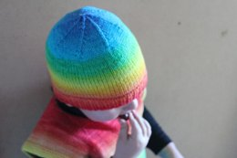 Simple Roll Brimmed Beanie
