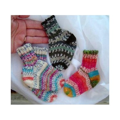 Tiny Treasures Baby Socks
