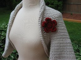 Simple to Make Elegant Shrug