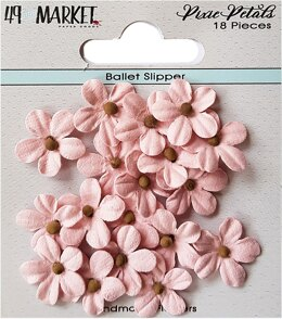 49 And Market Pixie Petals 18/Pkg - Ballet Slipper