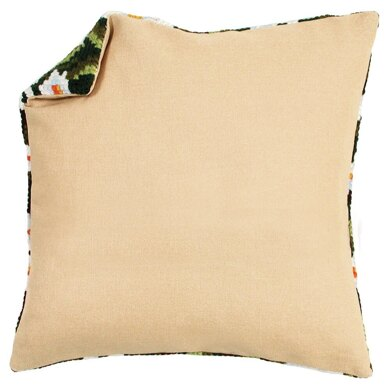 Vervaco Cushion Back without Zipper: Ecru - 45cm x 45cm