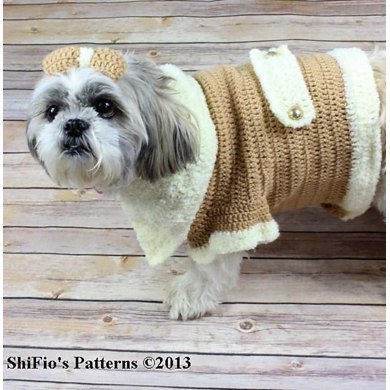 Dog Coat Crochet Pattern #179