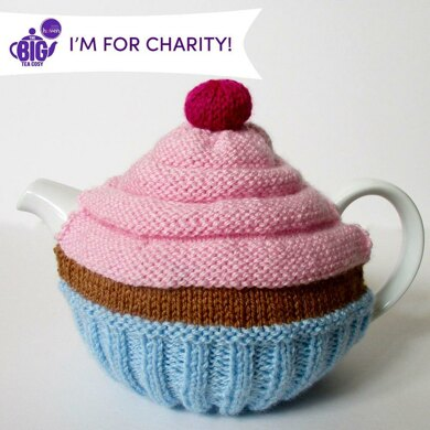 Cupcake Tea Cosy by Amanda Berry
