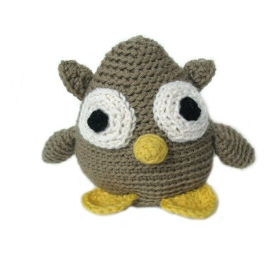 Amigurumi Courtney the Owl in an Egg