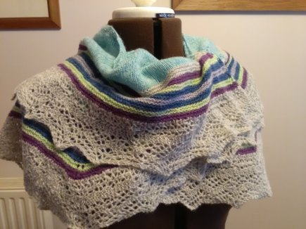 Twirl Scarf Knitting Project By Rosemary C Loveknitting