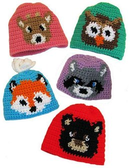 Forest Friends Hat to Crochet