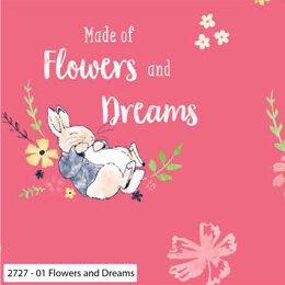 Craft Cotton Company Peter Rabbit Flowers & Dreams - Flowers and Dreams