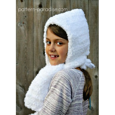 Fluffy Hat and Hand Muff PDF12-067