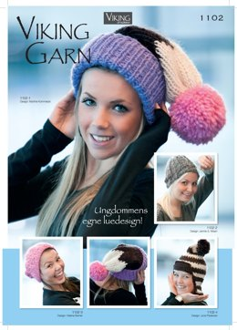 Catalogue 1102 - Hat Patterns Collection by Viking Of Norway