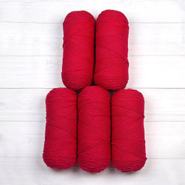 Red Heart Super Saver Economy Solids 5-Ball Value Pack