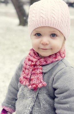 Little Bobble Scarf