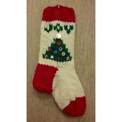 Easy Bulky Christmas Stocking