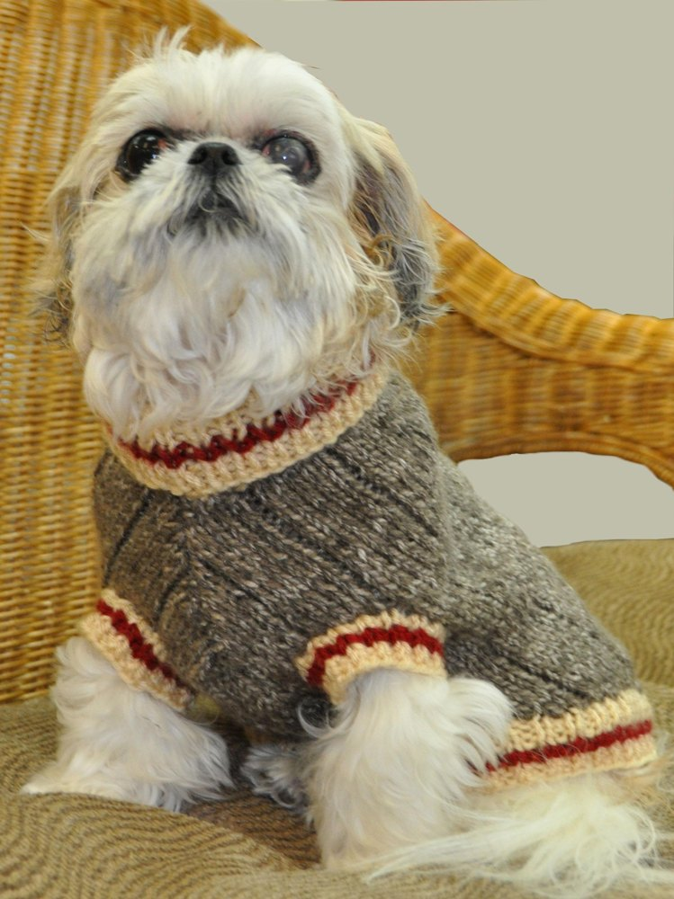 Sock Monkey Dog Sweater Knitting Pattern By Ronnie Eldridge Designs
