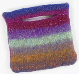 Felted Purse in Plymouth Boku - F184