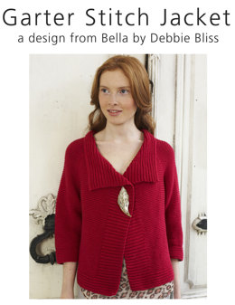 Garter Stitch Jacket in Debbie Bliss Bella