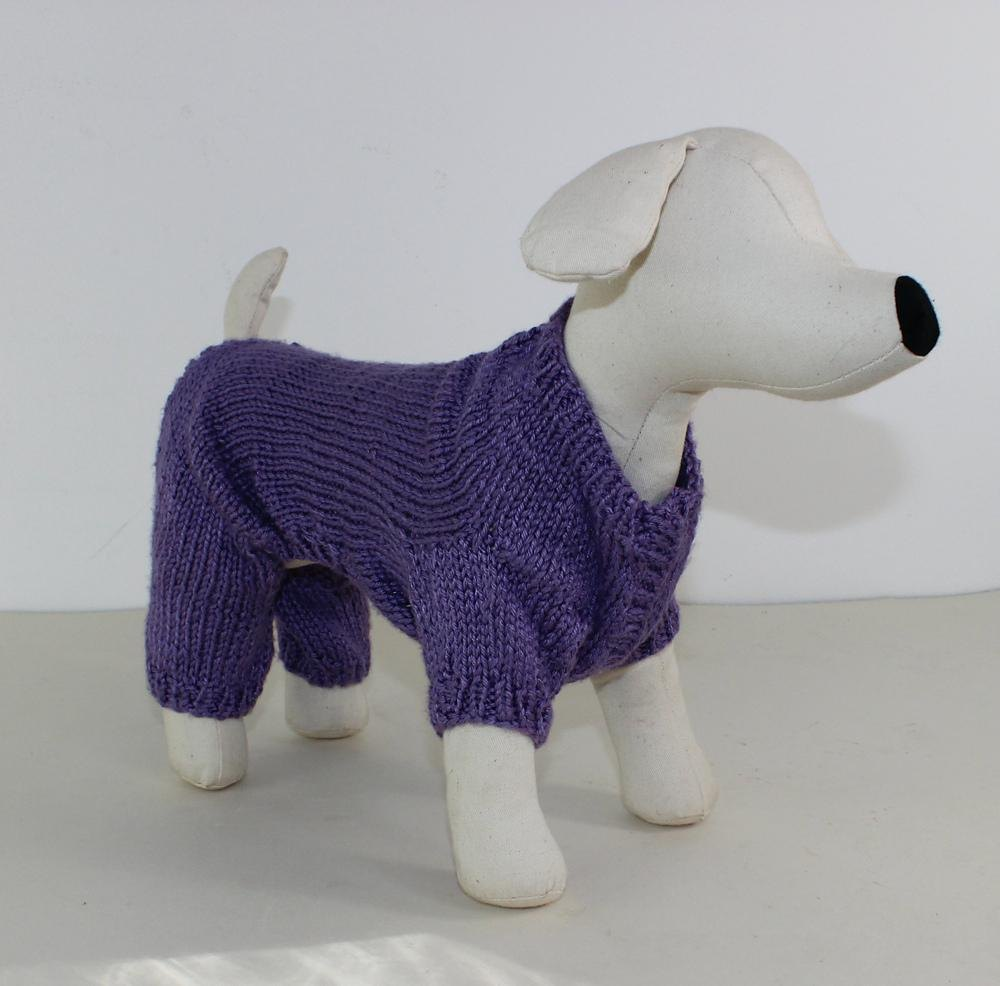 Small dog onesie knitting pattern by madmonkeyknits zoom bankloansurffo Choice Image
