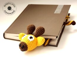 Bookmark Crazy Giraffe