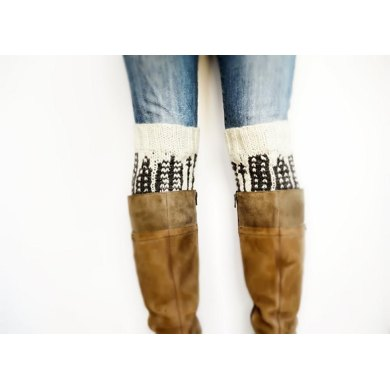 City Skyline Boot Cuffs