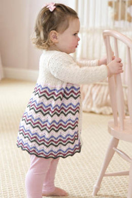 Chevron Swing Coat in Tahki Yarns Cotton Classic Lite