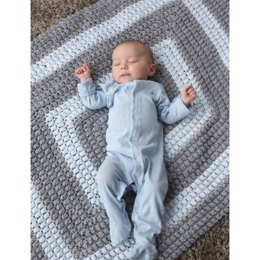 All-Around Blanket in Patons Beehive Baby Sport - Downloadable PDF
