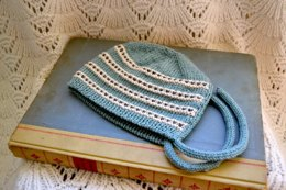 Stripes and Dots Bonnet