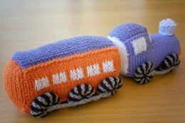 Passenger Steam Train Knitting Pattern